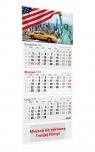 Kalendarz 2020 Trójdzielny LUX mix wzorów Praca Zbiorowa