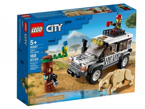 Lego City: Terenówka na safari (60267)