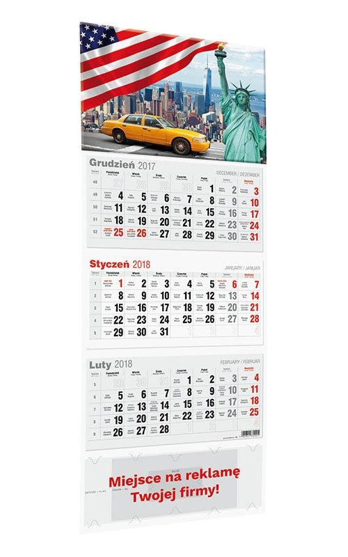 Kalendarz 2020 Trójdzielny LUX Praca Zbiorowa