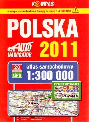 Atlas samochodowy Polska 2011