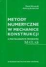 Metody numeryczne w mechanice konstrukcji