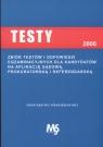 Testy 2006-2007 z odpowiedziami na aplikację sądową, prokuratorską i referendarską