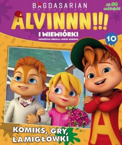 Alvinnn!!! i Wiewiórki cz.10 praca zbiorowa
