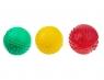 Piłka sensoryczna 4 faktury (463) mix kolorów