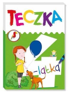 Teczka 4-latka Joanna Babula (ilustr.), Elżbieta Lekan
