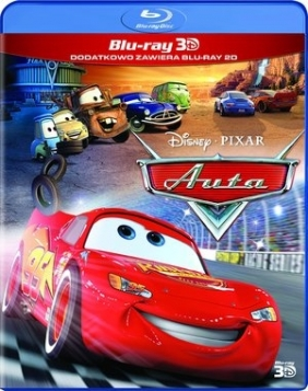 Auta 3D (Blu-ray)