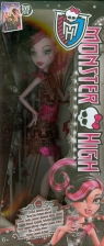 Monster High Czarny dywan Draculaura (BDF22/BDF23)