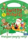 Święty Mikołaj Mikołajowe pomysły i naklejki