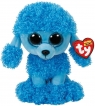 Beanie Boos: Mandy - maskotka Niebieski Pudel, 24cm (TY 37263)