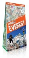 Mount Everest laminowana mapa trekkingowa Skala: 1:30 000; 1:100 000;