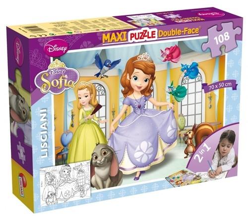 Puzzle dwustronne Maxi 108 Jej Wysokość Zosia (304-46638)