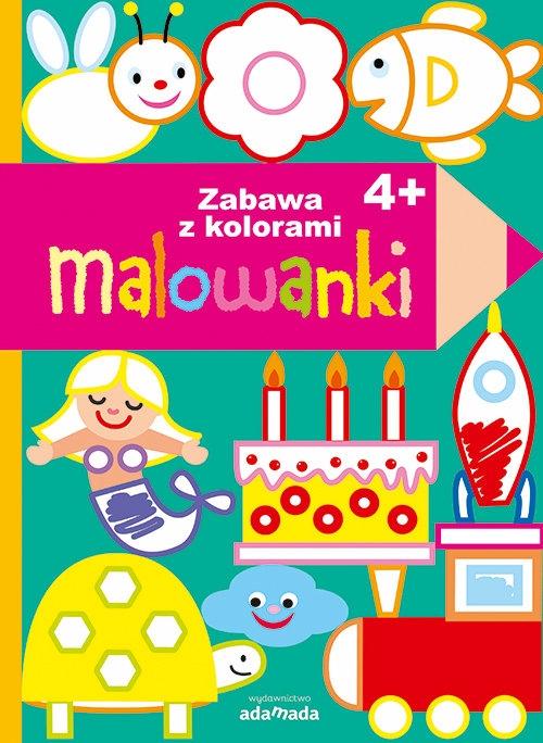 Malowanki Zabawa z kolorami 4+