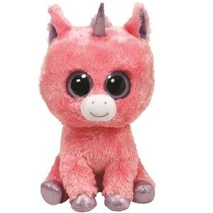 Pluszak Beanie Boos MAGIC - Różowy Jednorożec 24cm (TY 36963)