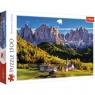 Puzzle 1500: Dolina Val di Funes, Dolomity, Włochy (26163)