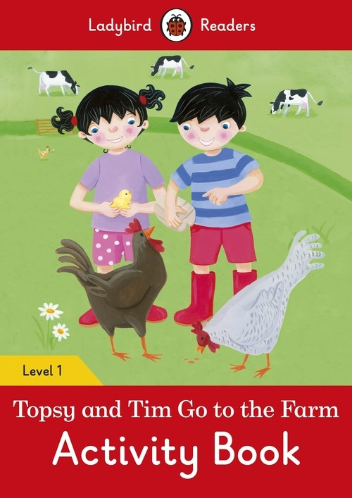 Topsy and Tim: Go to the Farm Activity Book