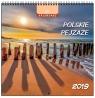 Kalendarz 2019 13 Planszowy Polskie Pejzaże