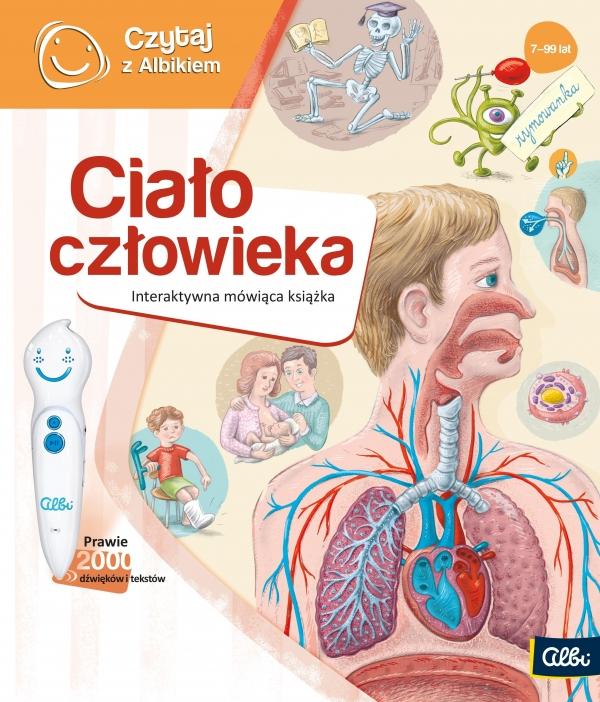 Czytaj z Albikiem: Ciało Człowieka - interaktywna mówiąca książka (72304)