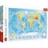 Puzzle 1000: Mapa fizyczna świata (10463)