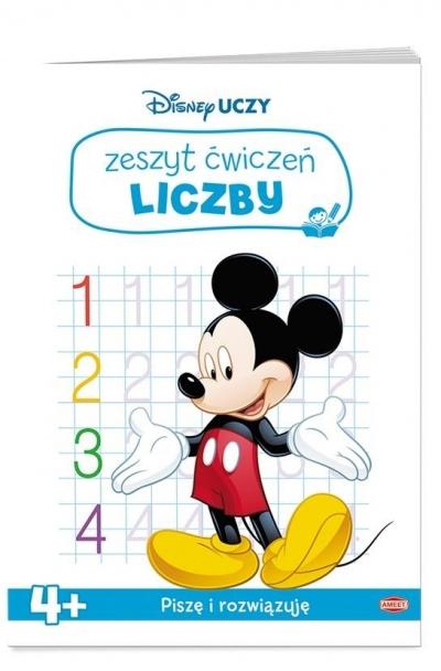 Disney Uczy. Zeszyt ćwiczeń. Liczby praca zbiorowa