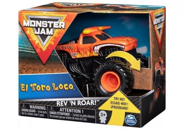 Auto 1:43 Warczące opony, El Toro Loco Monster Jam (6044990/20105416)