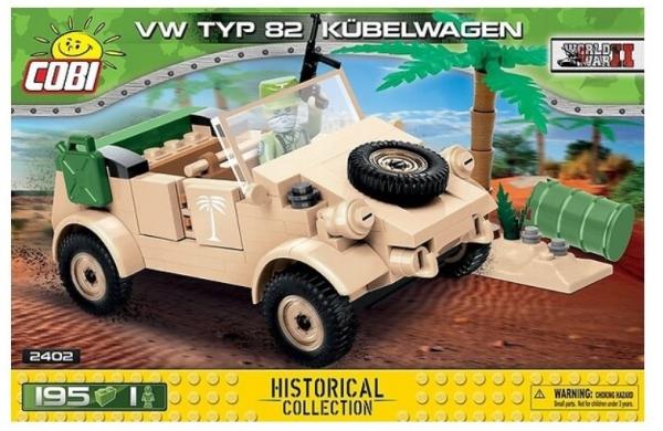 Klocki VW typ 82 Kübelwagen (2402)