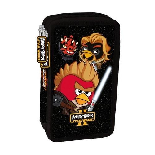 Piórnik podwójny Angry Birds Star Wars II z wyposażeniem
