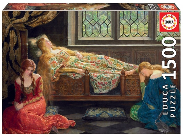 Puzzle 1500: The Sleeping Beauty John Collier (18464)
