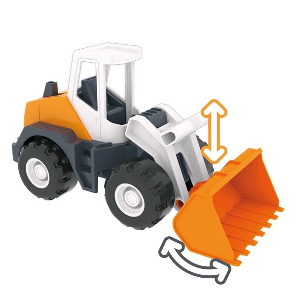 Tech Truck Budowlany - Koparka MIX (35360)