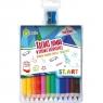 Kredki Jumbo ST.ART, 12 kolorów + temperówka