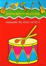 Instrumenty muzyczne Malowanki dla dzieci od lat 2