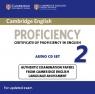 Cambridge English Proficiency 2 Audio 2CD