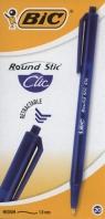Round Stic Clic niebieski pudełko 20 sztuk