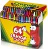 Kredki świecowe Crayola 44 szt + 20 szt gratis