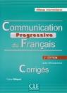 Communication Progressive du Francais Corriges Niveau intermediaire