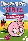 Angry Birds Stella i jej ulubiona książka z nalepkami i plakatem