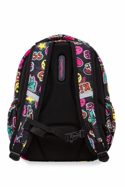 Coolpack - Strike S - Plecak Młodzieżowy  - Led Emotions (A18205)