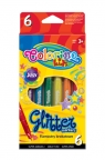 Flamastry brokatowe 6 kolorów (65641PTR)