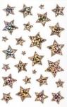 Naklejki transparentne - gwiazdki