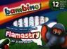 Flamastry ze stempelkami 12 kolorów Bambino