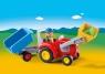Traktor z przyczepą (6964)