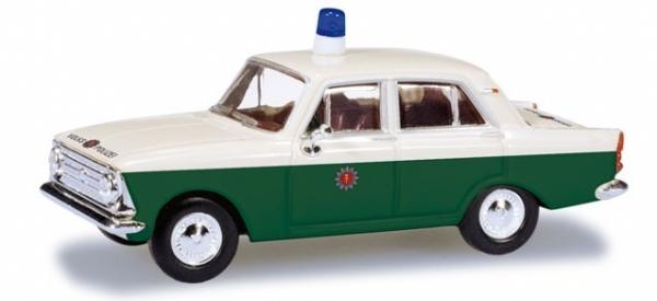 HERPA Moskwitsch 408 Volkspolizei