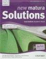 New Matura Solutions Intermediate Student's Book Kurs przygotowujący do matury