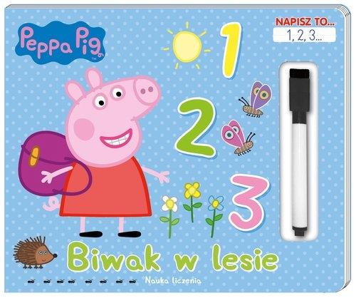 Peppa Pig. Napisz to... 1,2,3... Biwak w lesie opracowanie zbiorowe