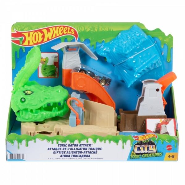 Zestaw tematyczny City Toxic Creatures Atak aligatora (FNB05/GTT69)