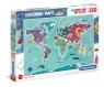 Puzzle SuperColor 250: Exploring Maps - Obyczaje i tradycje na świecie (29064)