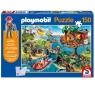 Puzzle 150: Playmobil Domek na drzewie + figurka