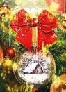 Karnet B6 Boże Narodzenie Bombka