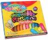 Plastelina Colorino Kids, 24 kolory (42642PTR)
