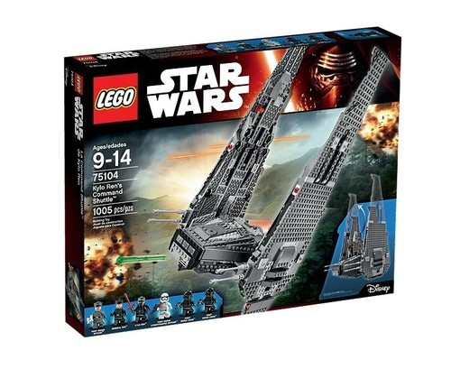 Lego Star Wars Command Shuttle Kylo Rena (75104)