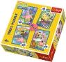 Puzzle 4w1 SpongeBob i Patryk (34264)